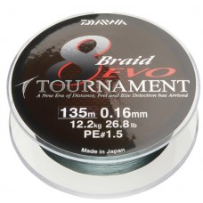Daiwa plecionka tournament evo dark green 135m